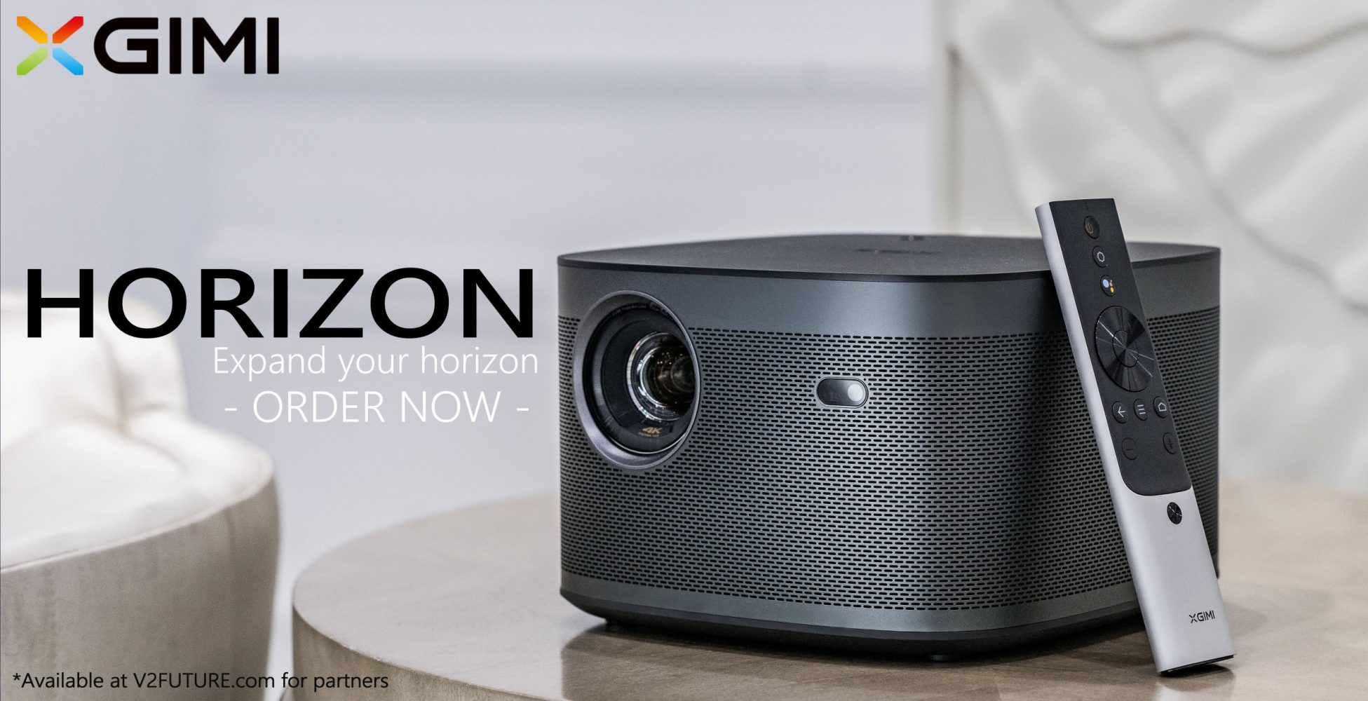 Household beamer made for 4K with Wifi and Harman Kardon Speakers